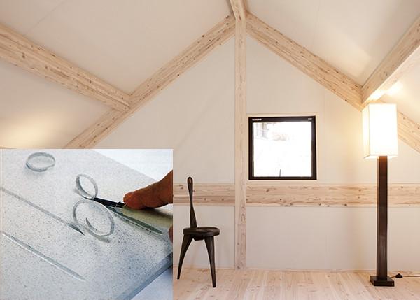内壁は、呼吸する最新素材「モイス」