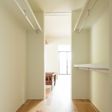 家の約15%を占める収納スペース